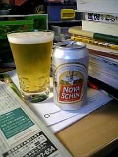 ブラジルのビールNOVA SCHIN